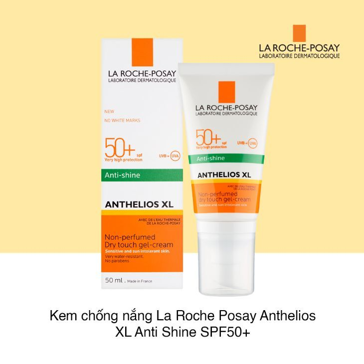 kem chống nắng la roche posay SPF 50+ ANTHELIOS XL DRY TOUCH