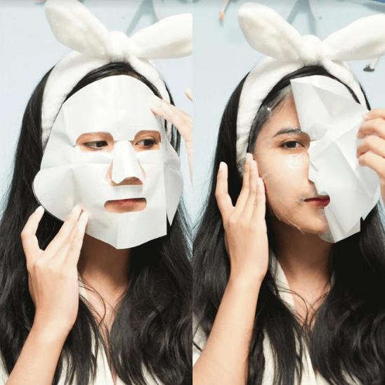 cách sử dụng mặt nạ giấy