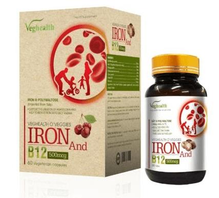 organic veghealth oveggies iron b12 giá bao nhiêu