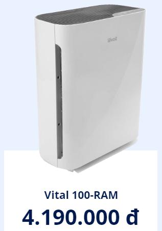 Máy lọc không khí levoit giá bao nhiêu