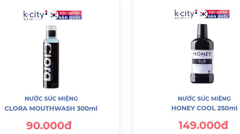 nước súc miệng clora giá bao nhiêu