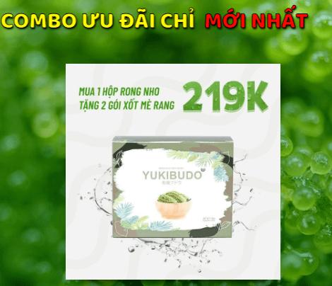rong nho yukibudo giá bao nhiêu